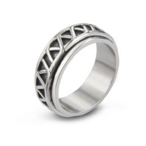 Celtic Stainless Steel Spinning Ring 9796